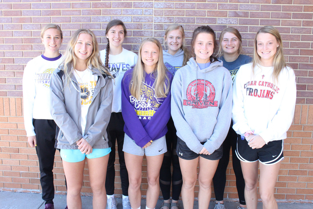 Bravettes Selected for Northeast Nebraska Track & Field Classic