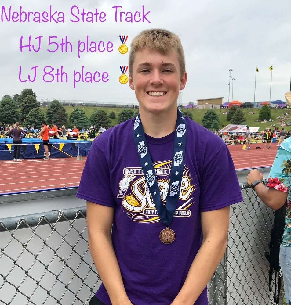 Olson Snags Hardware at State Track