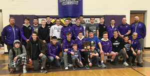 Braves Wrestlers End Season With 4th Place At State Tourney