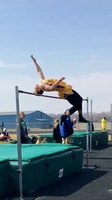 Landon Olson Breaks High Jump Record
