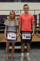 Athletic Banquet Newcomers of the Year 2019