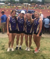 Sprint Relay Takes Hardware at State