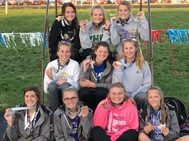Bravettes Take Hardware at Northeast Nebraska Track & Field Classic