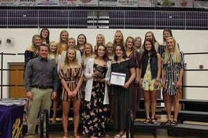 BC Volleyball Squad Earns Highest Team GPA Award