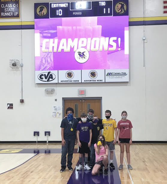 7th Grade PE Braveball Champions