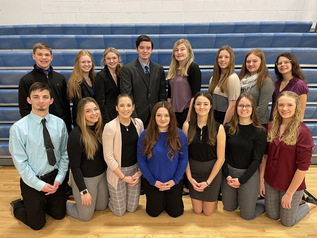 2021 District Speech Team (not pictured Ashlynn Rath)