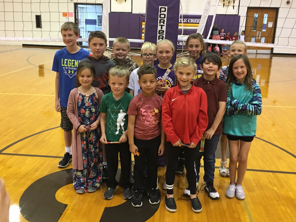 K-6th grade: Art Students of the Month