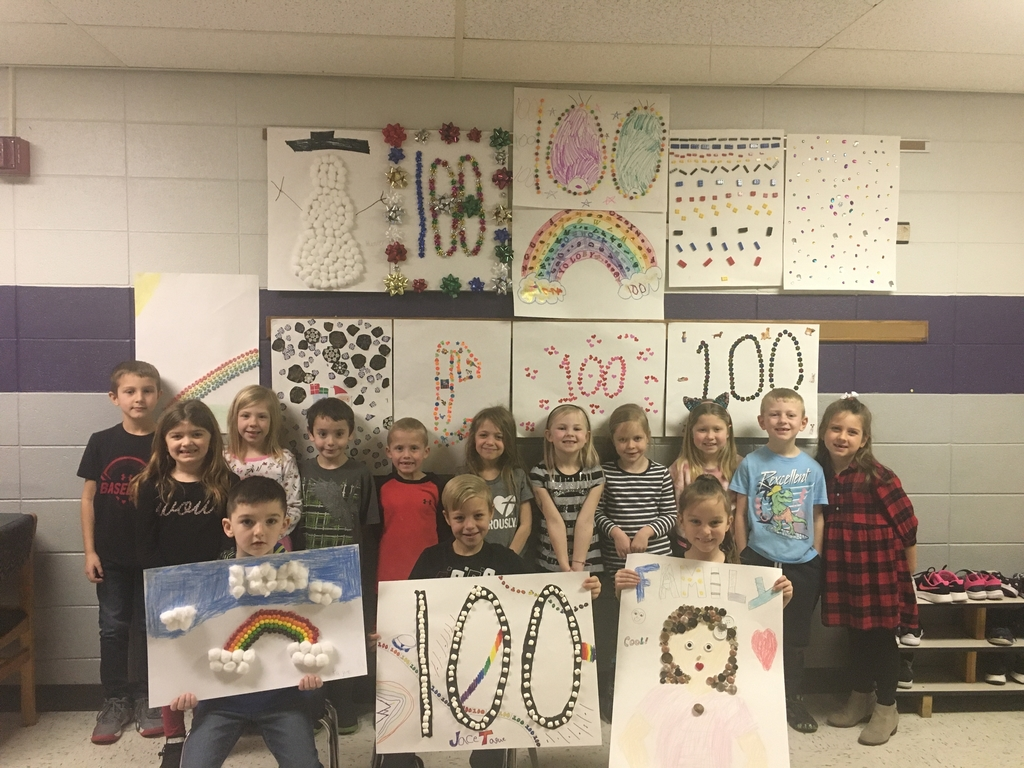 100 days of school😍💯