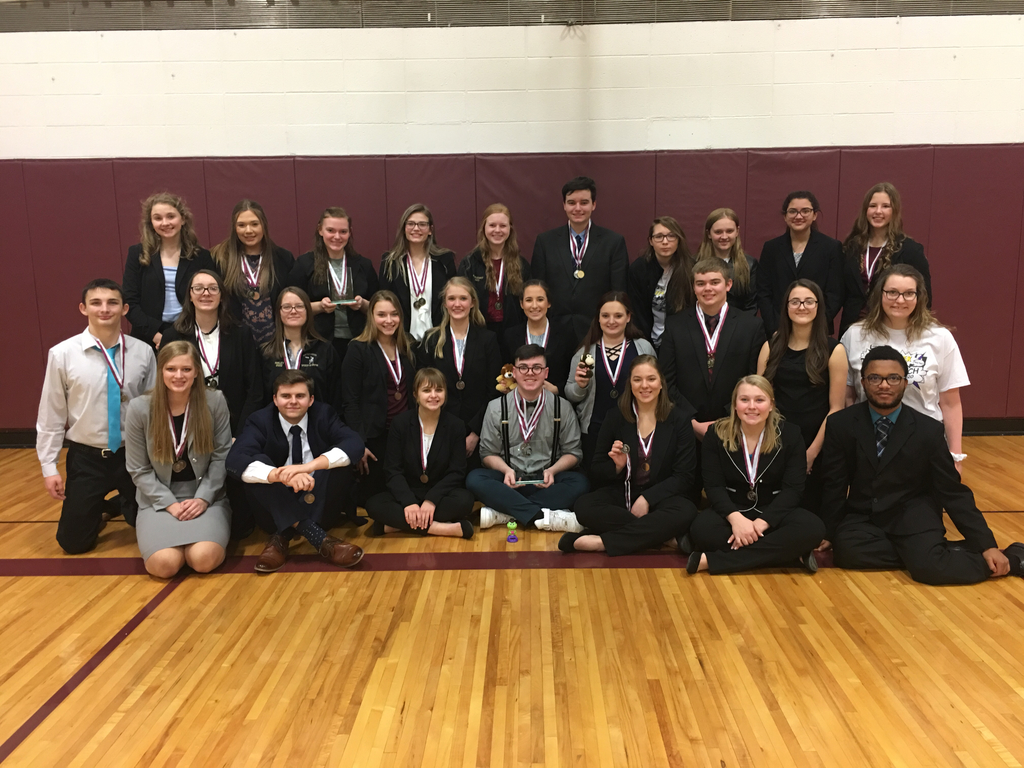 BC Speech Competitors at Wakefield