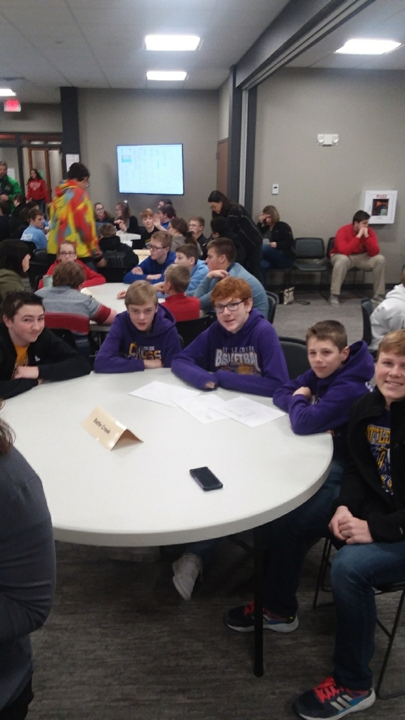 2020 JH Quiz Bowl Team